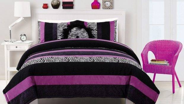 Pretty Bedding Colorful Teenage Girls Bedroom
