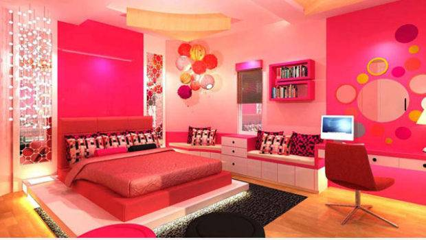 Pretty Bedrooms Girls Large Beautiful Photos