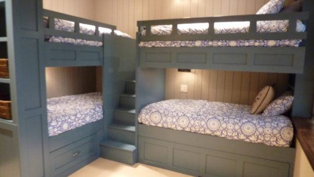 Pretty Bunk Bed Stairs Kids Traditional