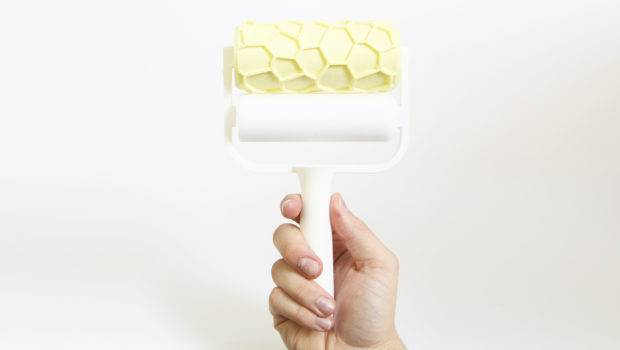 Printed Patterned Paint Rollers Matthijs Kok