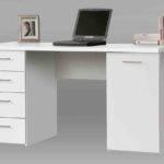Pulton White Computer Office Desk Furniturefactor