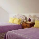 Purple Yellow Girls Bedroom Cottage Girl Room
