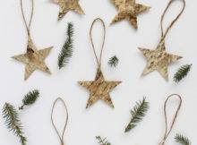 Quick Easy Christmas Decorations Make Birch