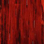 Rain Abstract Painting Red Black Acrylic