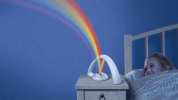 Rainbow Room Romantic Led Projector Color Night Lamp