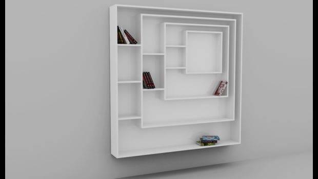 Rangements Square Bookcase Adjustable