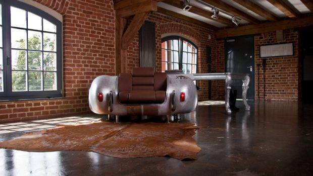 Real Car Parts Unique Furniture Collection Made