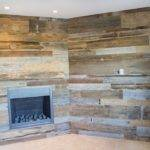 Reclaimed Oak Mantle Tobacco Barn Wood Wall Covering