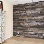 Reclaimed Speckled Black Wood Wall Covering Pbw