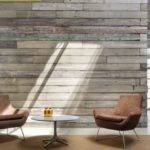 Reclaimed Wood Feature Wall Offices Pinterest