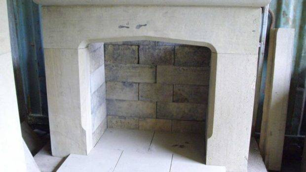 Recraft Upcycled Stone Smooth Face Fire Surround Back Hearth