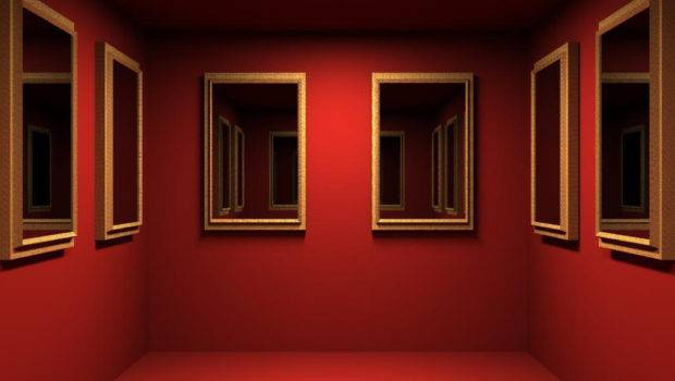 Red Mirrored Room