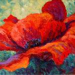 Red Poppy Iii Painting Marion Rose
