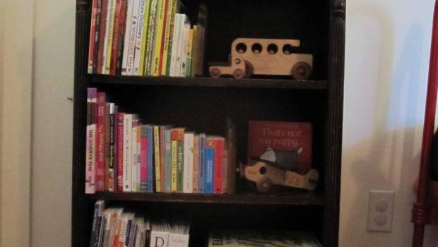 Refinish Bookshelf