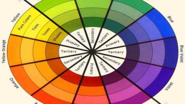 Related Color Wheel Interior Design