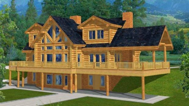 Related Mountain Home Plans Walkout Basement