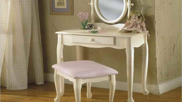 Related White Vanity Table Mirror Bench
