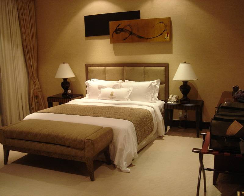 Relaxing Bedroom Ideas Decorating Warm Neutral Living ...