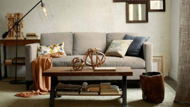 Relaxing Room Tables Bench One Side Decor