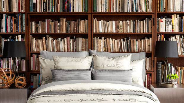 Relaxing Ways Decorate Your Bedroom Bookshelves