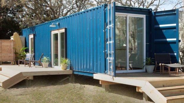 Rent Tiny Container Houses Beach Coastal Living