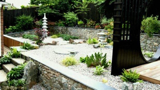 River Rock Garden Ideas Small Space Home