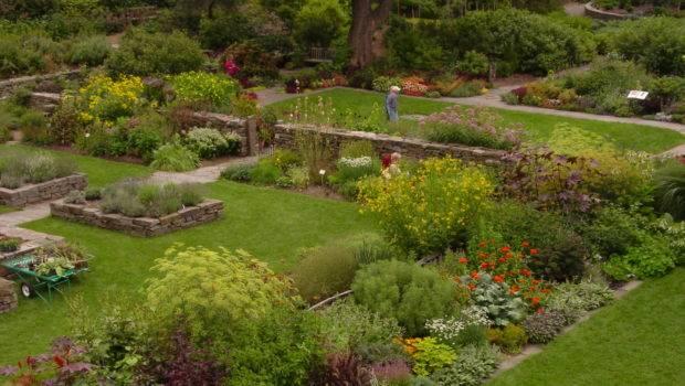 Robison York State Herb Garden Cornell Plantations