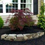 Rock Landscaping Ideas Diy Pertaining Front Yard