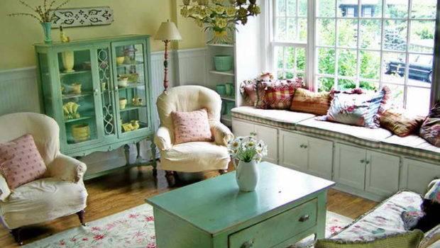 Room Cottage Vintage Living Ideas