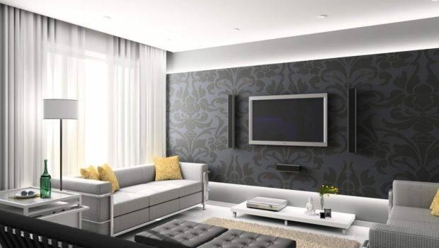 Room Home Design Ideas Black White Grey Colored Furniture