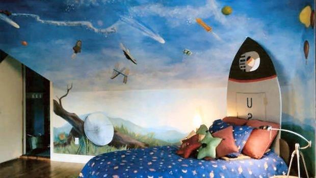 Room Paint Ideas Blue Kids Decor Boys Two