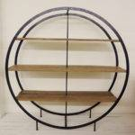 Round Bookcase Plans Easy Diy Projects