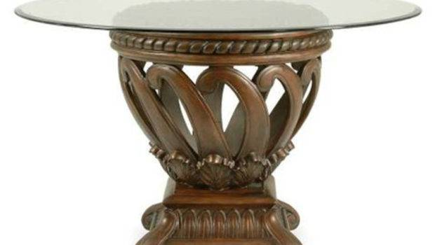 Round Glass Top Dining Table Inches High Cote