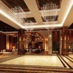 Round Restaurant Lobby Interior Design Hotel