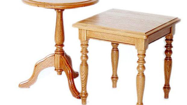 Round Side Table Square Meyer Ferreira