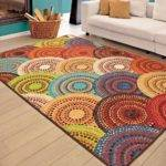 Rugs Area Carpet Rug Floor Modern Colorful