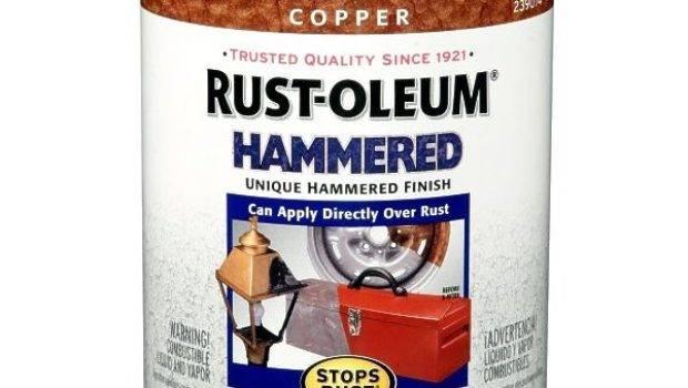 Rust Oleum Hammered Metal Finish Copper Quart