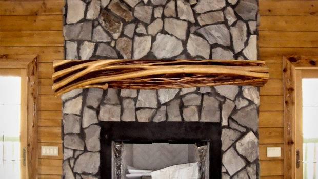 Rustic Fireplace Mantels Mantel Littlebranch