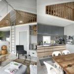Rustic Industrial Bathroom Interior Tiny House Plans