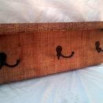 Rustic Wall Mounted Shelf Coat Rack Oceanstatewoods