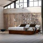 Rustic Wood Paneling Forms Cozy Backdrop Looks Great Teamed