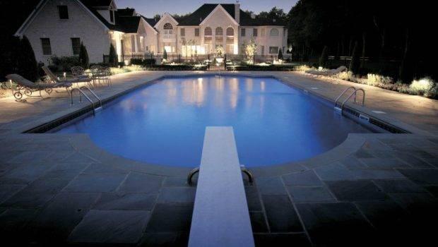 San Antonio Pool Area Outdoor Lighting