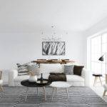 Scandinavian Design Designed Living Room