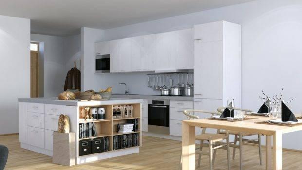 Scandinavian Parisian Apartments White