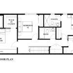 Second Floor Plan Interior Design Perspective