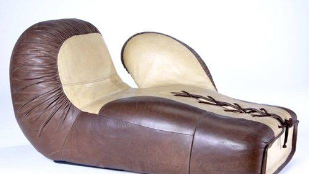 Sede Boxing Glove Lounge Chair Two Tone Leat