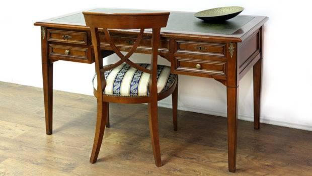 Several Different Types Pine Used Make Antique Desks