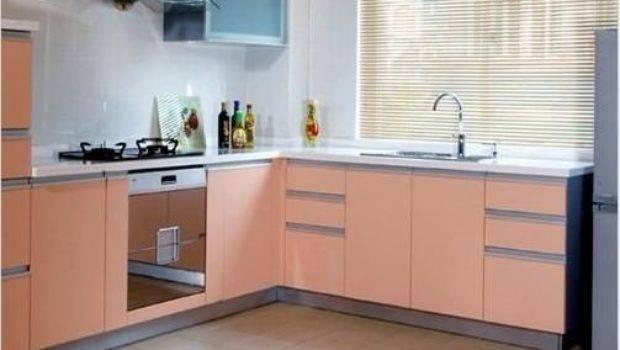 Shape Melamine Kitchen Cabinet Amblem China