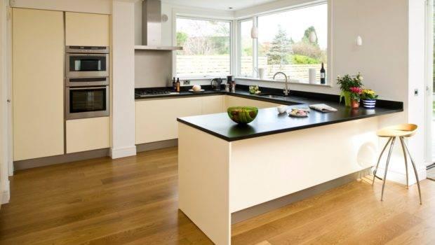 Shaped Apartment Kitchen Design Home Decoration Ideas
