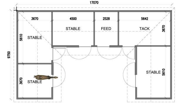 Shaped Courtyard House Plans Floor